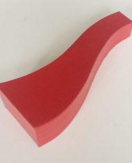 57 Custom S -shape red decoration flower cardboard vase (2)