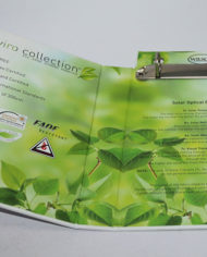 83 Luxury cardboard presentation folder box with metal ring binder (4)