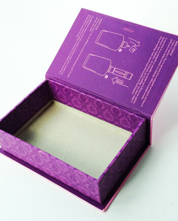 Flip top gift box