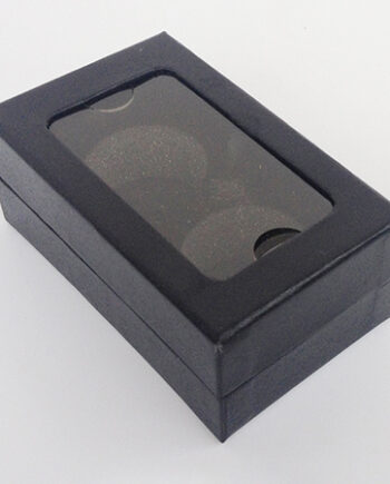 Top & lid boxes for 3pcs golf balls